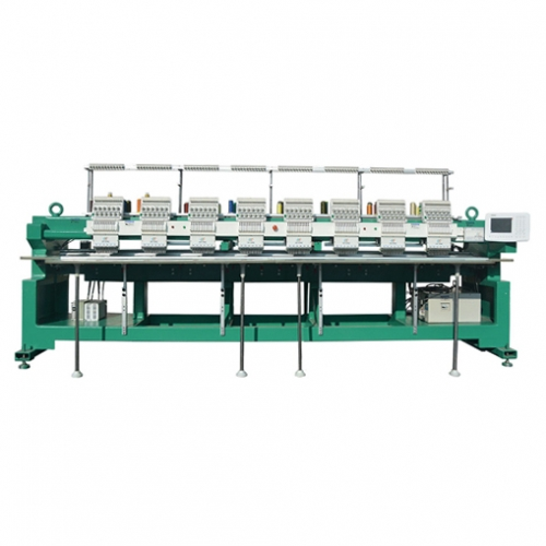 8 Heads Flat Embroidery Machine